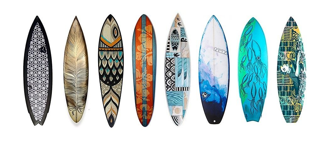 Surfboard Decoration Ideas